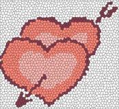 Lareiras do mosaico ilustração royalty free