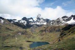 Lares-Tal - Peru lizenzfreie stockfotos