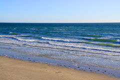 larg s пляжа залива adelaide Австралии стоковое изображение rf