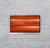 Large écran TV Photographie stock libre de droits