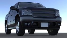Large 4x4 vehicule Royalty Free Stock Photo