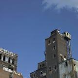 Large abandonned factory Royalty Free Stock Photography