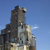Large abandonned factory Stock Photography