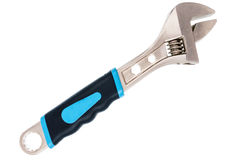 Large adjustable wrench Stock Images
