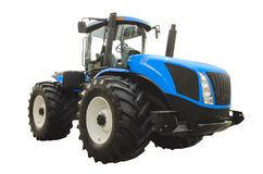 Large agricultural tractor royalty free stock photos
