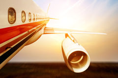 Large aircraft Royalty Free Stock Image