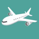 Large Airplane Stock Photography