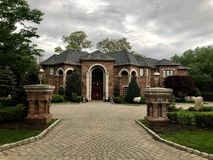 Free Large American Beautiful Homes In New Jersey. Stock Photos - 148251843