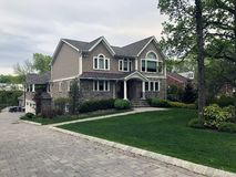 Large American beautiful homes in New Jersey.
