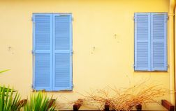 Large And Small Shutters Stock Image