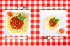 Free Large And Tiny Food Portions Royalty Free Stock Photography - 108979387