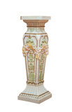 Large Antique ceramic Floor Vase Isolated on White background Royalty Free Stock Photo