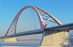 A large arch bridge Royalty Free Stock Images