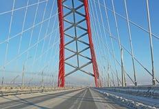 A large arch bridge Stock Image