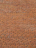 Large area of red brick wall Royalty Free Stock Photos