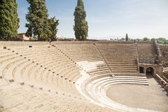 Large Arena in Pompeii Royalty Free Stock Photos