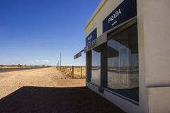 Prada Marfa Art Installation royalty free stock image