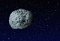 Large asteroid Stock Image
