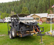 A large atv for hire in pagosa springs Stock Photo