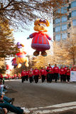 Large Balloon Characters Move Along Route Of Atlanta Christmas P Royalty Free Stock Images