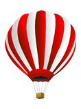 Large balloon on a white background Royalty Free Stock Photography