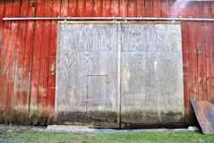 Large barn doors Royalty Free Stock Photos
