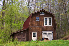 Large Barn with Metal Roof royalty free stock images