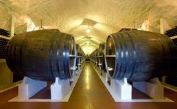 Large barrels Royalty Free Stock Photography