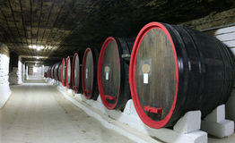 Large barrels Royalty Free Stock Photos