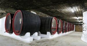 Large barrels Royalty Free Stock Image