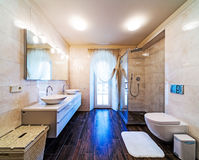 Large bathroom Stock Images