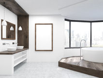 Large bathroom interior Royalty Free Stock Image