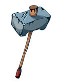 Large Battle Mallet of War. Stock Image