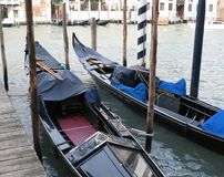 Venice. Italy. Two special boats for walking Stock Image