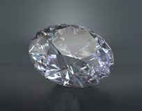 Large beautiful diamond Royalty Free Stock Photo