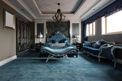 Large bedroom Royalty Free Stock Photos