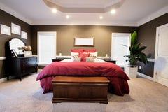 Large Bedroom Interior stock photos