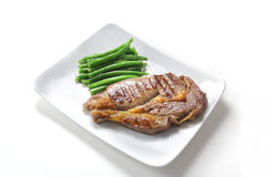 Large beef steak Royalty Free Stock Photography