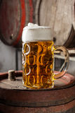 Large beer Glass Royalty Free Stock Photo