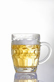 Large beer mug Royalty Free Stock Photography