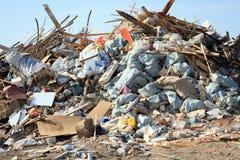 Large big garbage dump waste Stock Photo