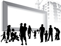 A large billboard Royalty Free Stock Images