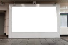 Large billboard. black advertising led board empty space for tex. T stock photo