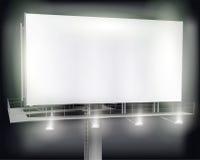 Large billboard. Vector illustration. Stock Photography