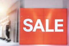 Large billboards, SALE words stock photos