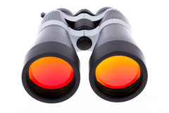 Large binoculars isolated Stock Photo