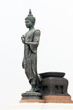 Large black statue of Buddha Royalty Free Stock Photography