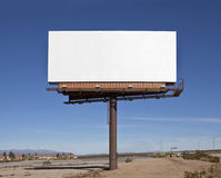 Large Blank Billboard Royalty Free Stock Images