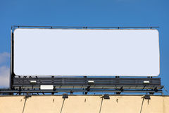 Large Blank Billboard Royalty Free Stock Photo