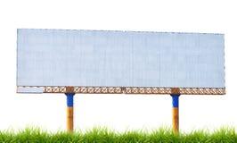 Large blank billboard Stock Photo